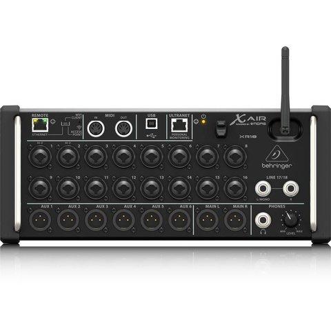 Behringer XR18 18-Channel 12-Bus Mixer, iPad