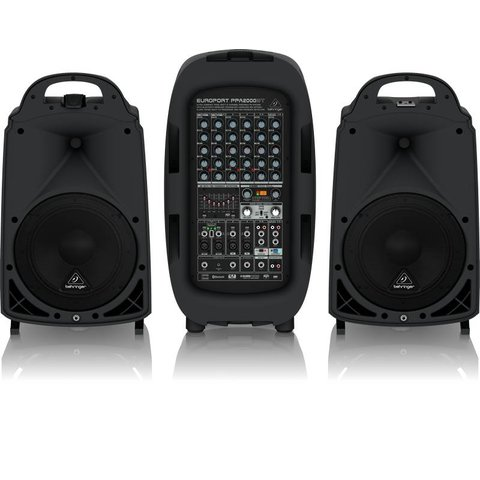 Behringer PPA2000BT 2000W 8-Channel PA System