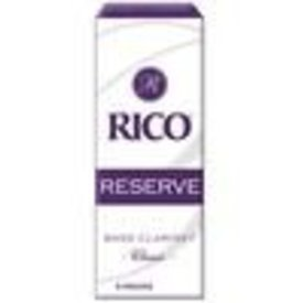 Rico Rico Reserve Classic Bass Clarinet Reeds, Box of 5 Strength 2.5