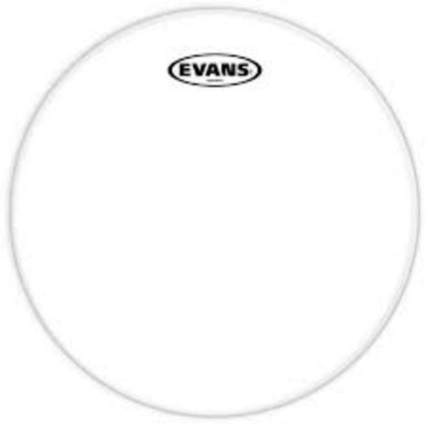 "Evans Evans Resonant Glass Drum Head 6"""