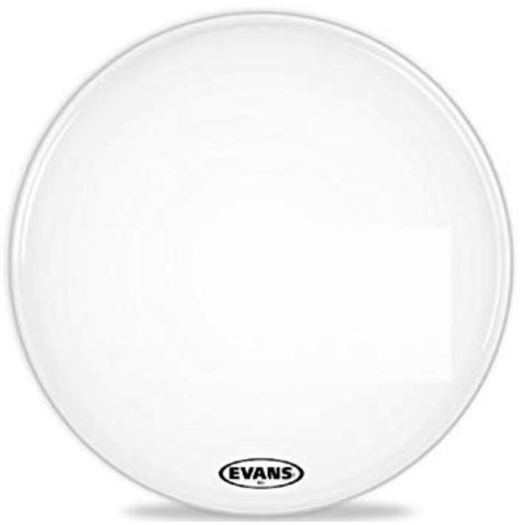 Evans MX2 White Marching Bass Drum Head 32""