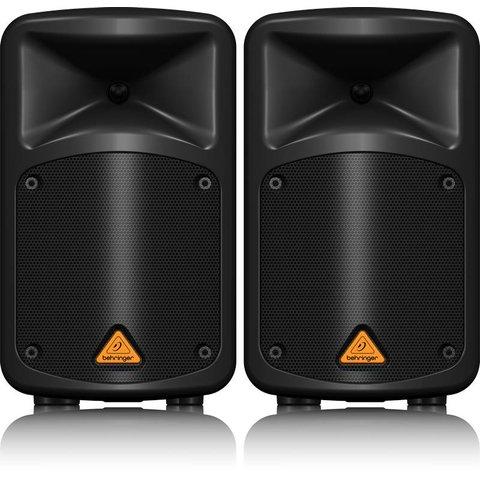 "Behringer EPS500MP3 500W 8-Ch 8"" PA Speaker Sys-BT"