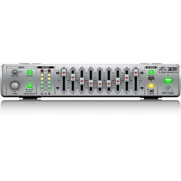 Behringer Behringer FBQ800 UC 9-Band G Equalizer - FBQ