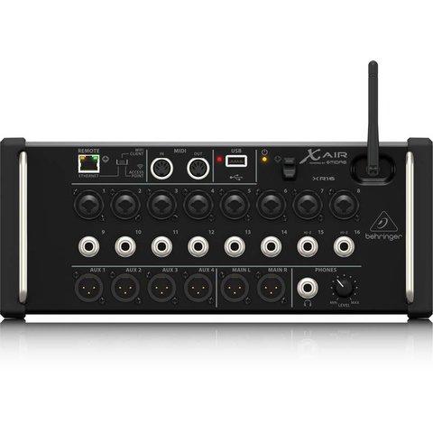 Behringer XR16 16-Input Digital Mixer, iPad