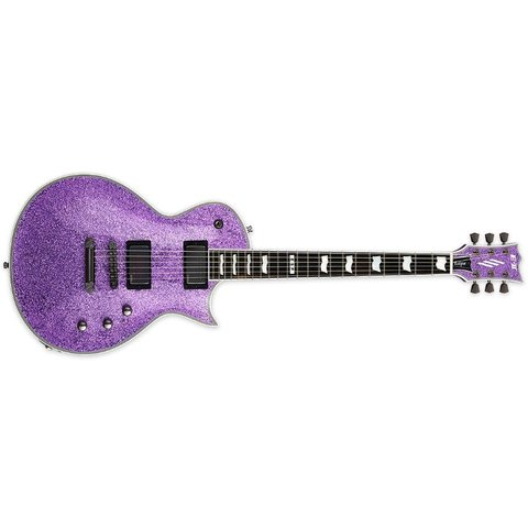 ESP E-II Eclipse DB Series Purple Sparkle Electric Guitar