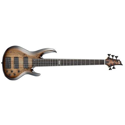 ESP E-II BTL-5 5-String Bass Black Natural Burst