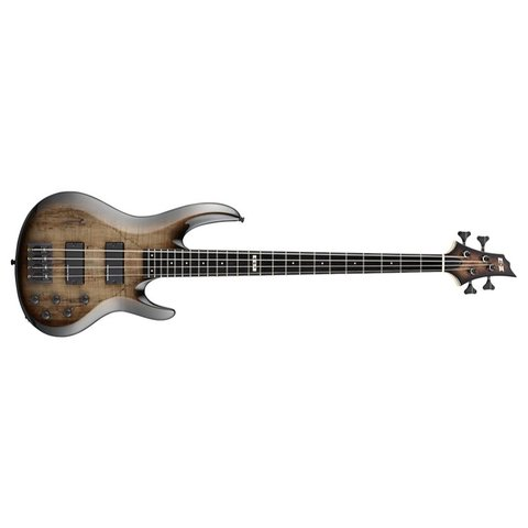 ESP E-II BTL-4 4-String Bass Black Natural Burst