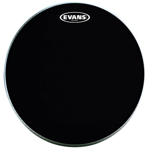Evans MX2 Black Marching Bass Drum Head 28""