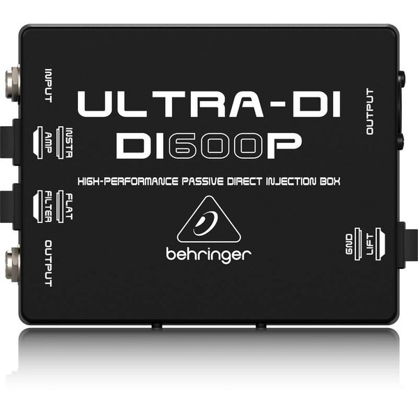 Behringer Behringer DI600P Passive Direct Injection Box