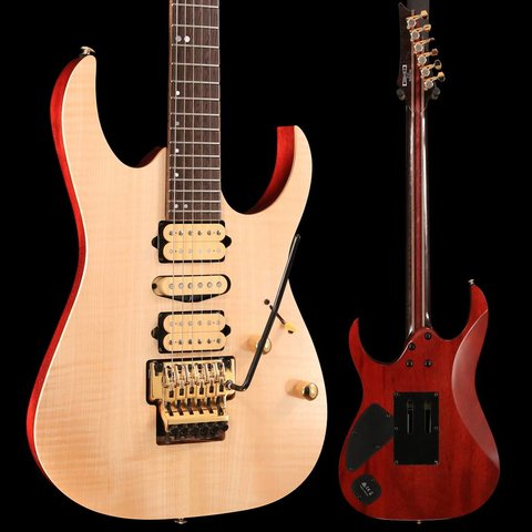 Ibanez RG1070FMNTL RG Premium 6str Electric Guitar w/Bag - Natural Flat SN/181200034
