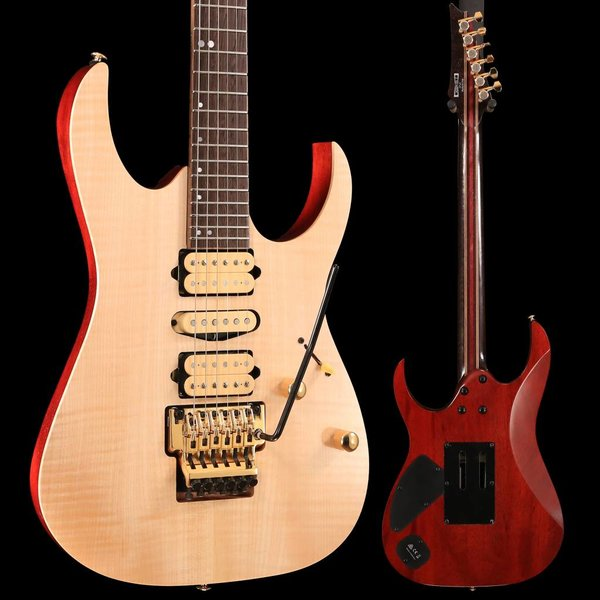 Ibanez Ibanez RG1070FMNTL RG Premium 6str Electric Guitar w/Bag - Natural Flat SN/181200034