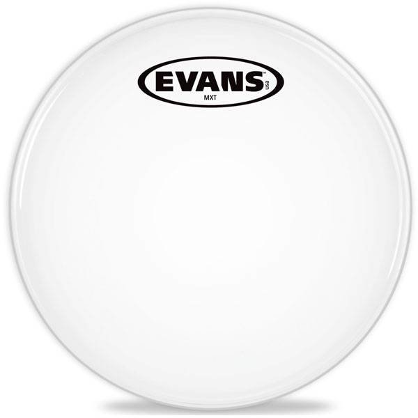 Evans Evans MX White Marching Tenor Drum Head 6""