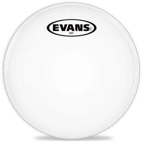 "Evans MX White Marching Tenor Drum Head 14"""