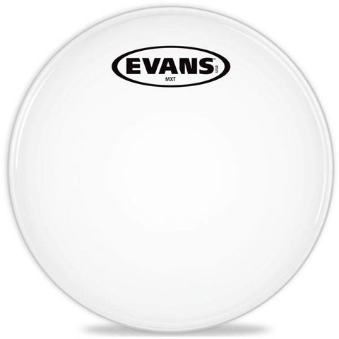 "Evans MX White Marching Tenor Drum Head 12"""