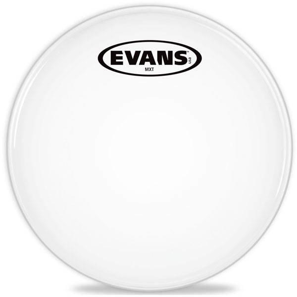"Evans Evans MX White Marching Tenor Drum Head 12"""