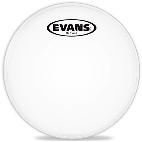 Evans MX Frost Marching Tenor Drum Head 14""