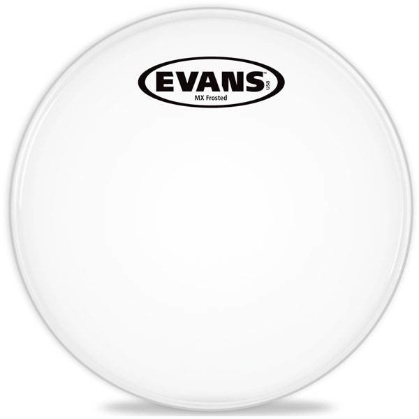 Evans Evans MX Frost Marching Tenor Drum Head 14""