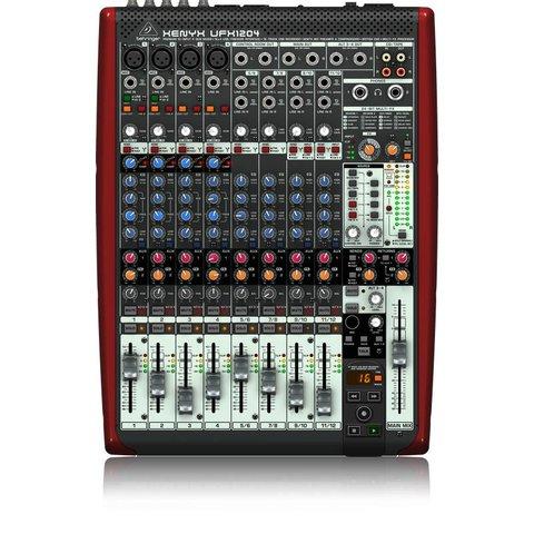 Behringer UFX1204 12-Input 4-Bus Mixer XENYX/USB