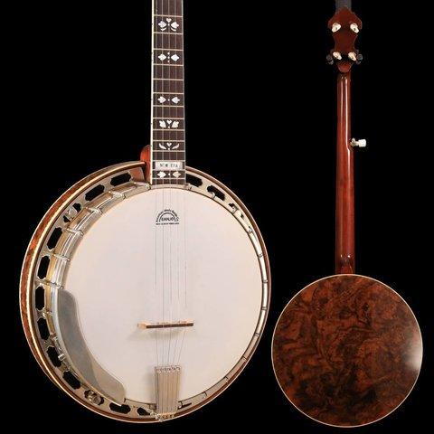 Blaylock Pars Banjo w/ Yates V33 Tone Ring