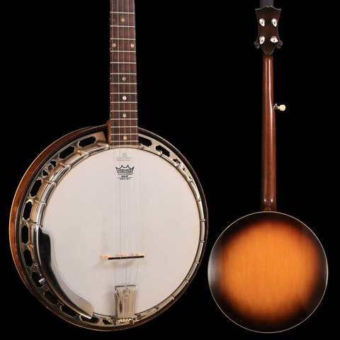 1950's Gibson RB100 Banjo w/ Yates Tone Ring