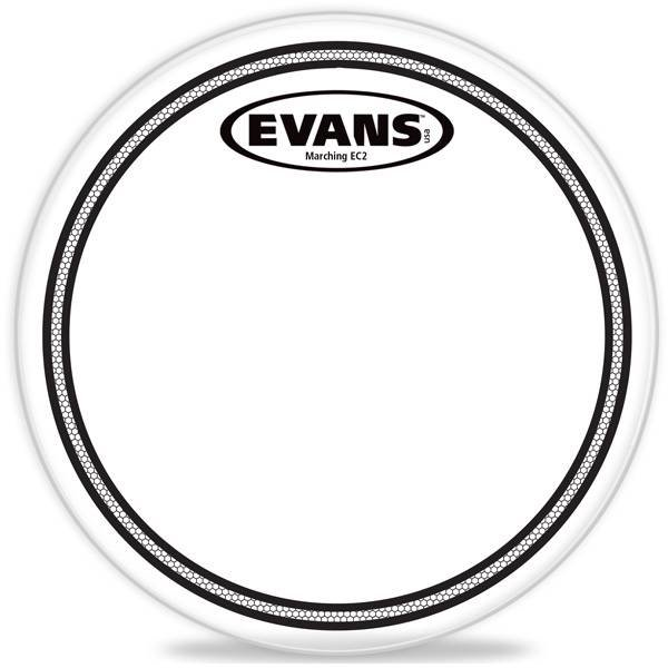 "Evans Evans Marching EC2S Tenor Drum Head 12"""