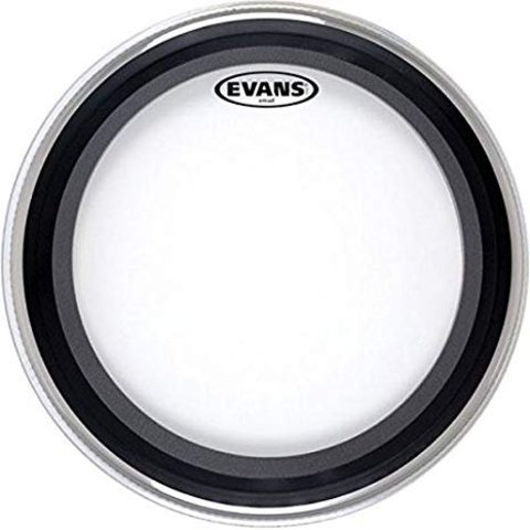 "Evans GMAD Clear Bass Drum Head 18"""
