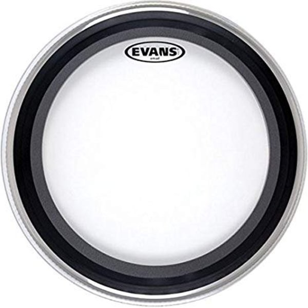 "Evans Evans GMAD Clear Bass Drum Head 18"""
