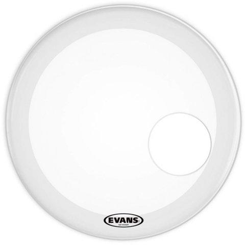 "Evans EQ3 Resonant Smooth White Bass Drum Head 20"""