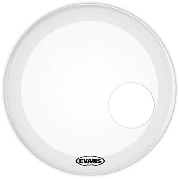 "Evans Evans EQ3 Resonant Smooth White Bass Drum Head 18"""