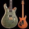 PRS Paul Reed Smith Custom 24 Ten 10-Top, Pattern Thin, Trampas Green Hybrid