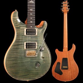 PRS PRS Paul Reed Smith Custom 24 Ten 10-Top, Pattern Thin, Trampas Green Hybrid S/N  180265751, 7lbs 3.2oz