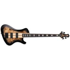 LTD ESP LTD Stream Series STREAM-1004 Black Natural Burst Electric Bass Guitar