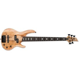 LTD ESP LTD RB-1005 Spalted Maple Natural Satin 5-String Electric Bass Guitar