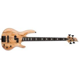 LTD ESP LTD RB-1004 Spalted Maple Natural Satin Electric Bass Guitar