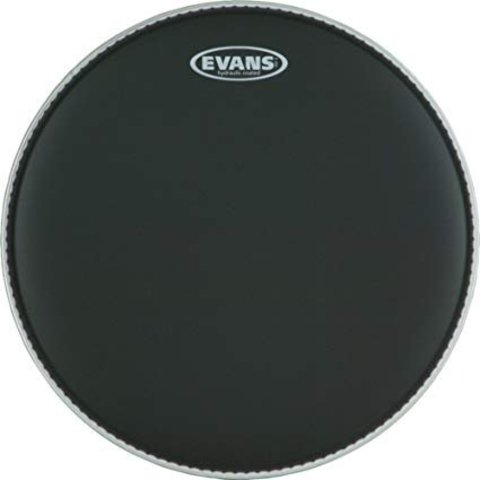 Evans Hydraulic Black Drum Head 6""