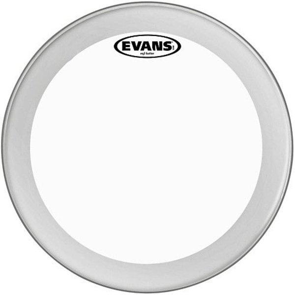 """Evans Evans EQ3 Clear Bass Drum Head 24"""""""
