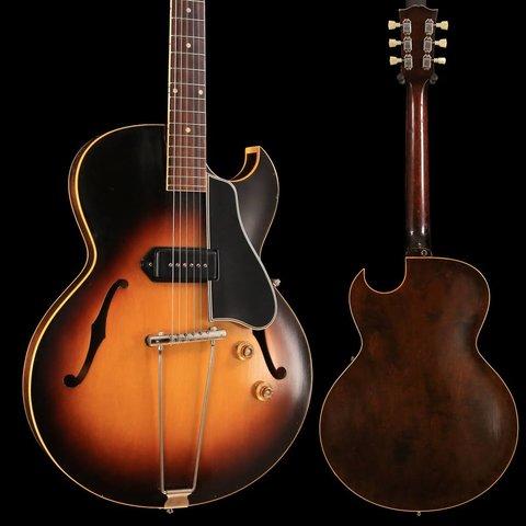 1956 Gibson ES-225T Hollowbody Brown Sunburst w/ Hard Case