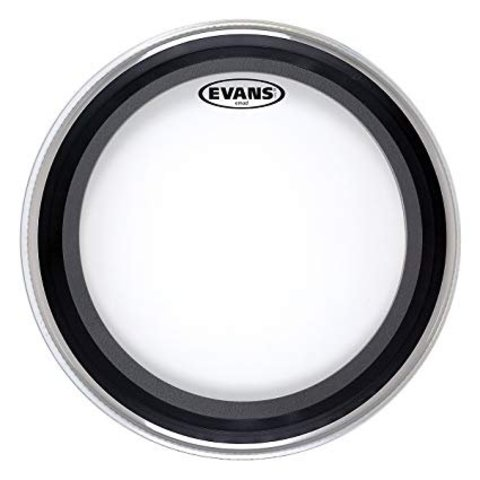 "Evans EMAD Heavyweight Clear Bass Drum Head 18"""
