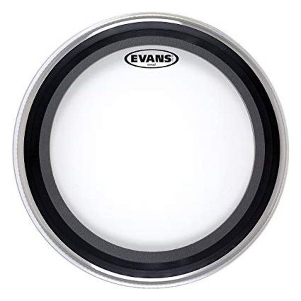 "Evans Evans EMAD Heavyweight Clear Bass Drum Head 18"""