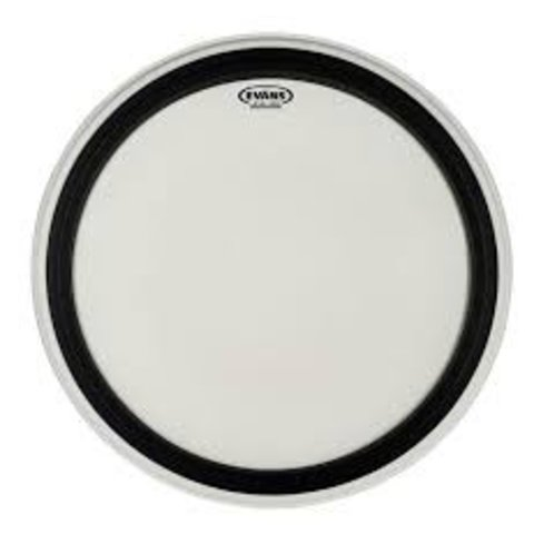 Evans EMAD Coated White Bass Drum Head 18""