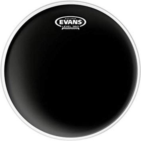 "Evans Black Chrome Drum Head 6"""