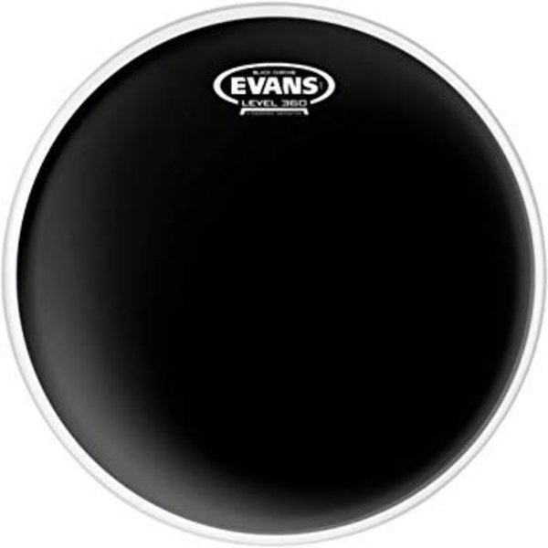 Evans Evans Black Chrome Drum Head 20""