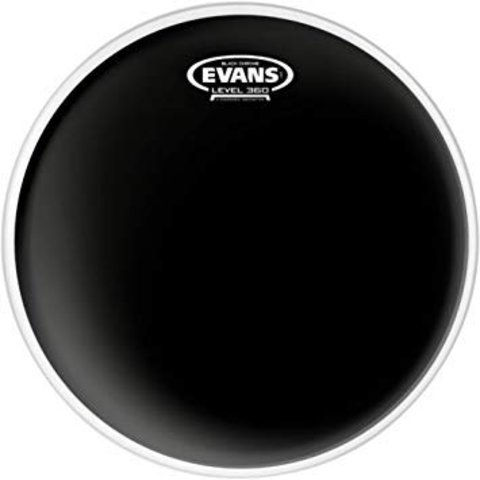 "Evans Black Chrome Drum Head 18"""