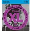 D'Addario EXL120 Nickel Wound Electric Guitar Strings, Super Light, 9-42 10 Sets