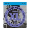 D'Addario EXL115 Nickel Wound Electric Guitar Strings, Medium/Blues-Jazz Rock, 11-49 10 Sets