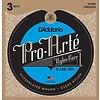 D'Addario EJ46 Pro-Arte Nylon Classical Guitar Strings, Hard Tension 3 Sets