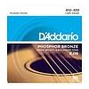 D'Addario EJ16 Phosphor Bronze Acoustic Guitar Strings, Light, 12-53 3 Sets
