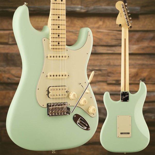 Fender Fender American Performer Strat HSS, Maple Fingerboard, Satin Surf Green