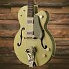Gretsch G6118T-60 Vint. Select Edtn '60 Anvsry Hollow Body w/ Bigsby, TV Jones, 2-Tone Smoke Green
