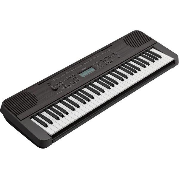 Yamaha Yamaha PSR-E360DW Portable Keyboard (Dark Wood)